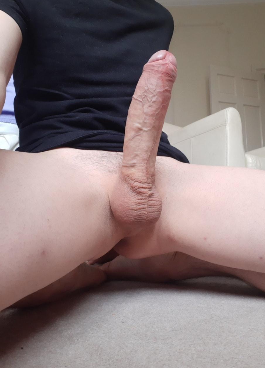 Big cock standing tall