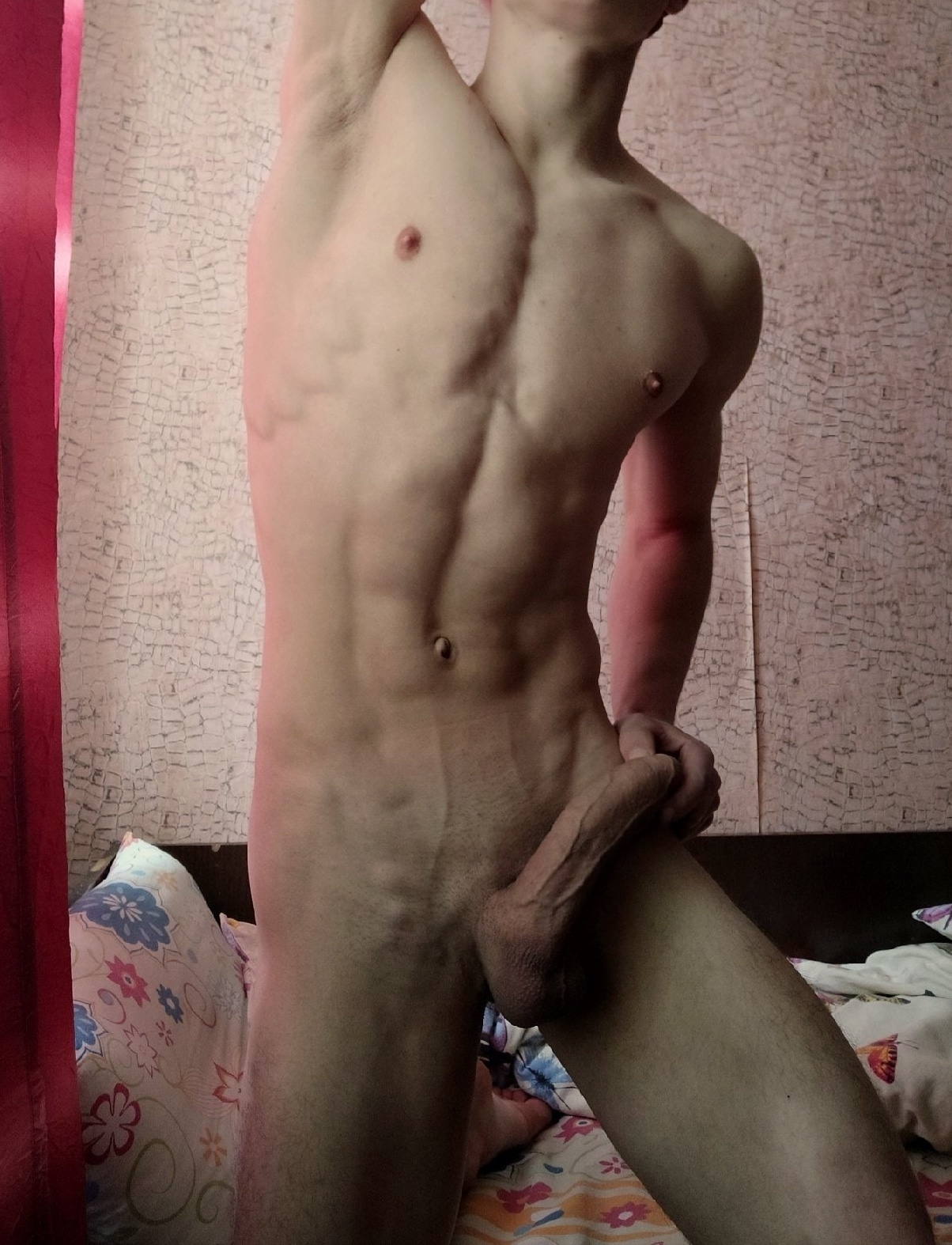 Hairless body and cock