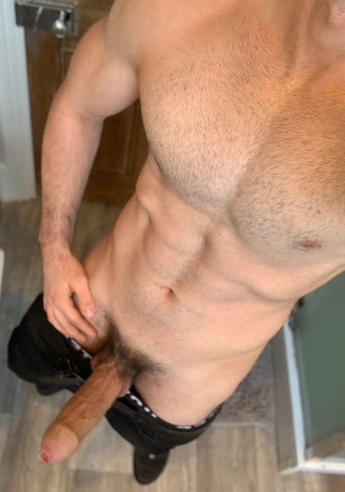 Hot body and hard cock
