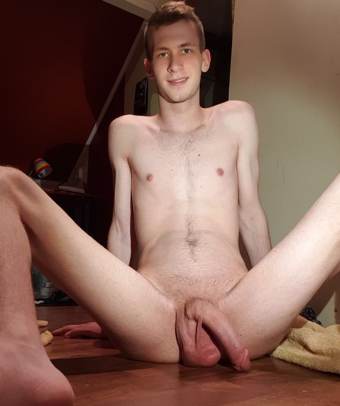Nude guy with a big cock