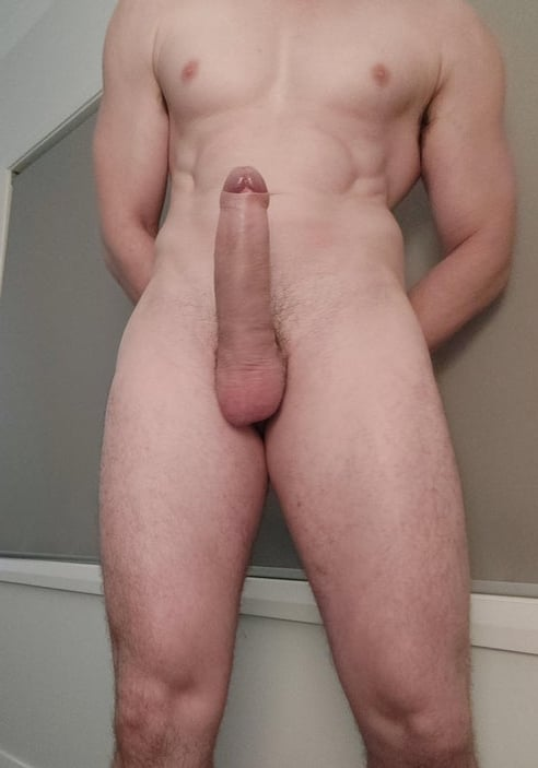 Perfect cock on this hunk
