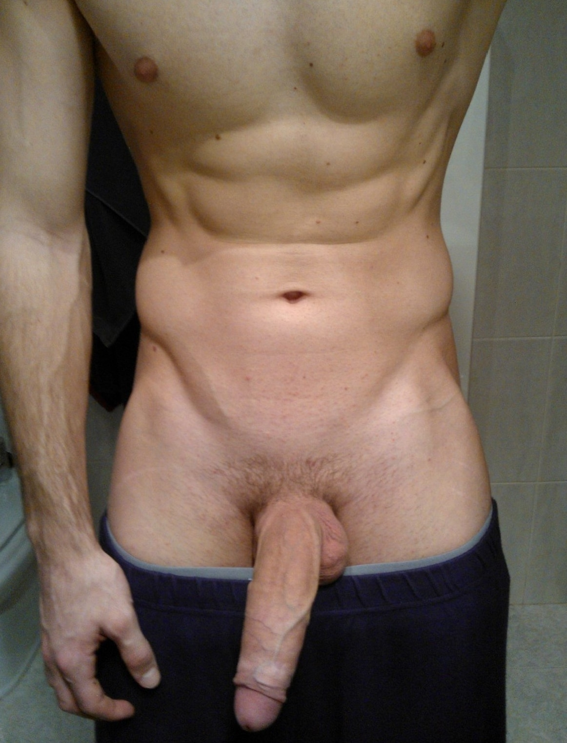 Stud taking dick picture